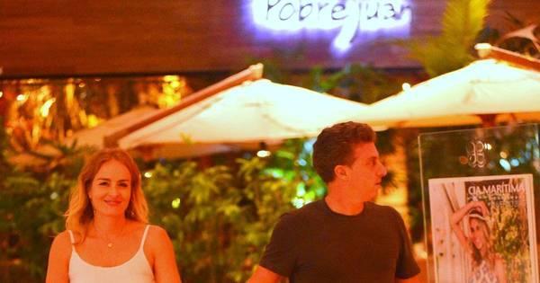 Angélica e Luciano Huck fazem passeio a dois no Rio de Janeiro ...