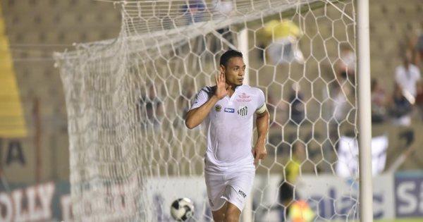 Ricardo Oliveira faz golaço na vitória do Santos sobre o Capivariano...