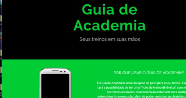 Estudantes criam aplicativo que ajuda a controlar treinos na academia