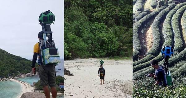 Triatleta percorre Tailândia inteira a pé para gerar imagens para ...