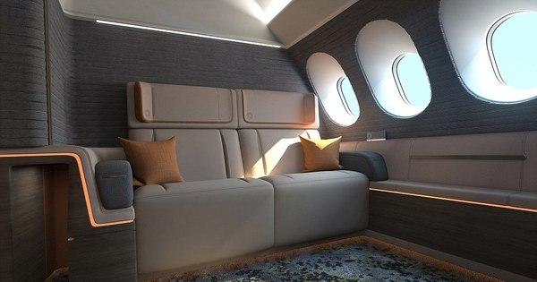 Suítes de superluxo em aviões têm serviço de hotéis 5 estrelas a ...