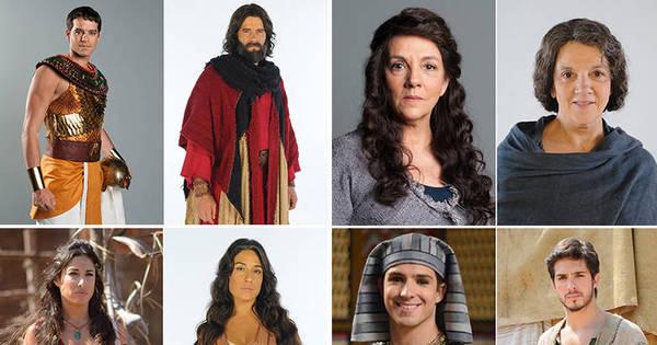 Nova temporada: veja o antes e depois dos personagens de Os Dez ...