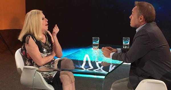 """Em entrevista a Gugu, Vanusa revela que já fez aborto: """"Me ..."""