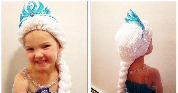 Enfermeira cria perucas de princesas da Disney com tricô para ...