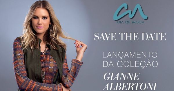 Gianne Albertoni lança coleção de roupas outono/inverno ...