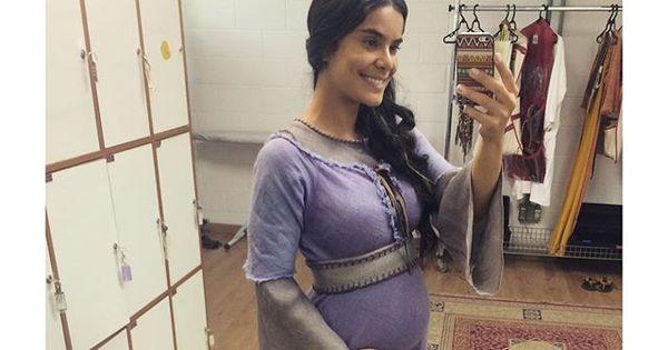 Bianka Fernandes fala sobre gravidez da personagem em Os Dez ...