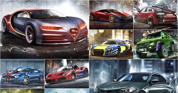 Máquinas ganham versões criadas para super-heróis - Fotos - R7 ...