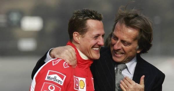 """Ex-presidente da Ferrari faz revelação sobre Schumacher: """"Ele está ..."""
