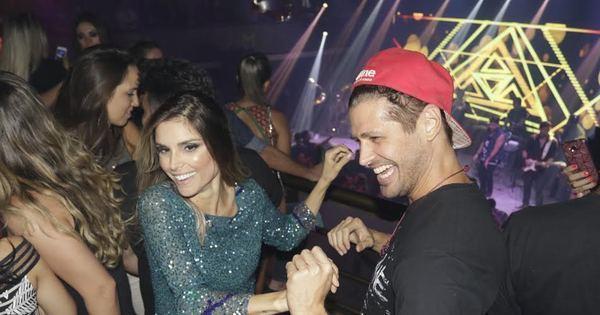 Dado Dolabella e a ex-BBB Flávia Viana dançam forró e se ...