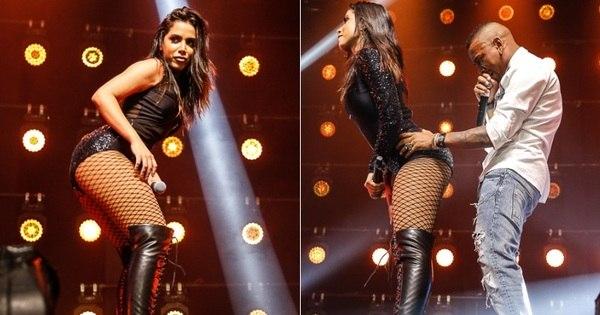 Anitta estreia turnê com show cheio de sensualidade e convidados ...
