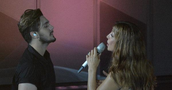 Luan Santana participa de gravação de DVD de Ivete Sangalo na ...