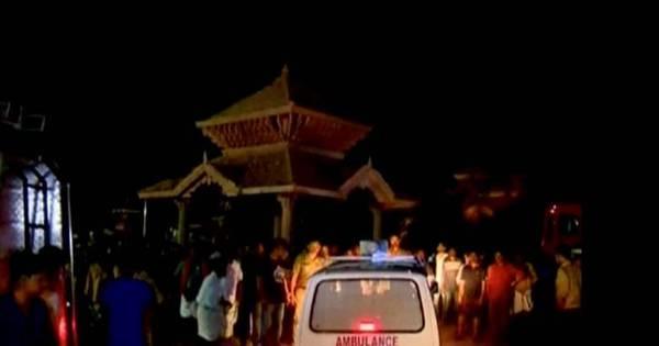 Vídeo mostra explosões de fogos de artifício em templo na Índia que ...
