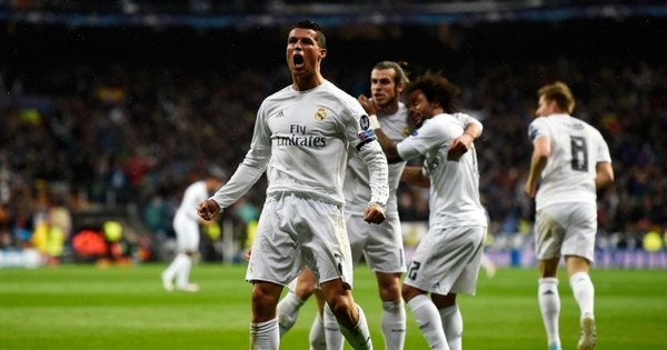 Com três gols de Cristiano Ronaldo, Real Madrid se classifica para ...