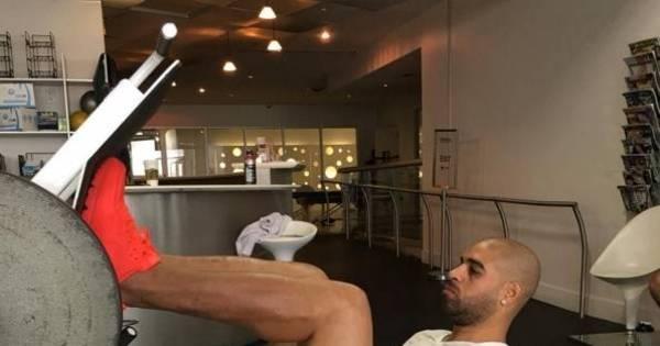 Adriano pega pesado para entrar em forma antes da estreia oficial ...