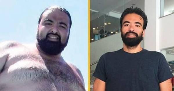 Após aposta, jovem emagrece 100 kg em um ano sem fazer cirurgia ...