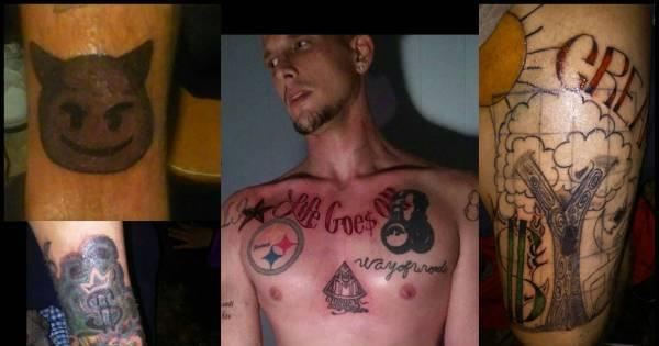 Essas tatuagens certamente farão seus donos se arrepender num ...