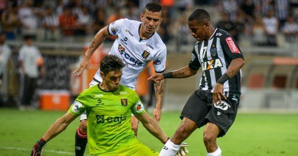 Atlético- MG goleia e avança em primeiro lugar na Copa Libertadores