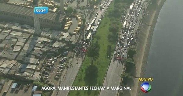 Protestos contra impeachment fecham vias de São Paulo - Notícias ...