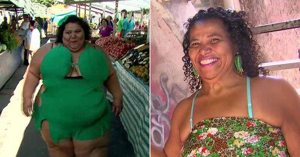 Mulher Fruta-Pão emagrece inacreditáveis 132 kg e está com fome ...