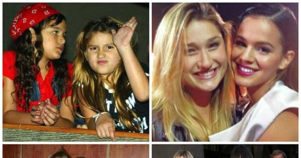 Inseparáveis! Veja o antes e o depois das famosas que são ...