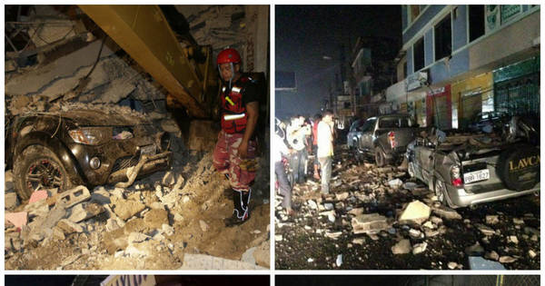 Centenas de pessoas morrem no maior terremoto do Equador ...