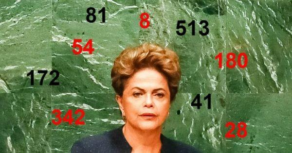 A matemática de Dilma: Os números que definirão o destino da ...