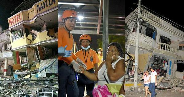 Número de mortos por terremoto no Equador sobe para 350 ...