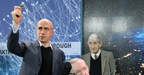 Stephen Hawking e Mark Zuckerberg se juntam a bilionário russo ...