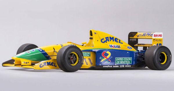 Relíquia! Primeiro carro usado por Schumacher na Fórmula 1 será ...