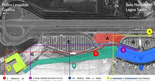 Obras alteram rotina de passageiros no aeroporto de Confins ...
