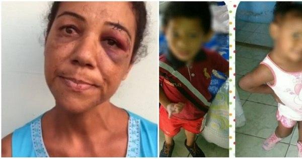 """Vizinha """"surta"""" e tenta matar crianças de 3 anos com facão - Fotos ..."""