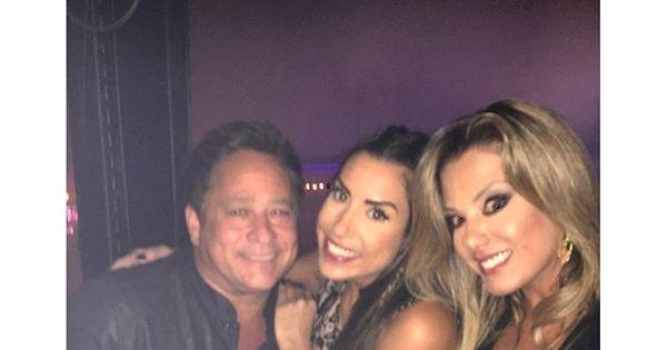 Ex-BBB Juliana Dias reencontra sertanejo Leonardo, seu ex-chefe ...