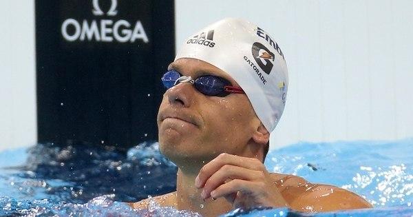 Cesar Cielo está fora dos Jogos Olímpicos do Rio de Janeiro - Rede ...