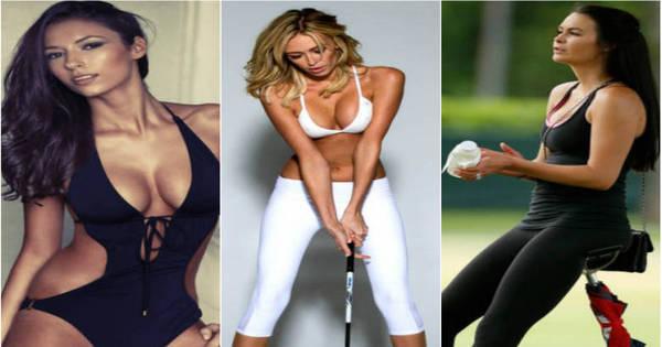 Melhor que futebol? Mulheres dos golfistas colocam maria- chuteiras ...