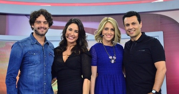 Guilherme Winter e Giselle Itié participam do The Love School no ...