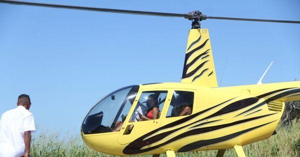 Milionária, ex-bbb Munik faz passeio de helicóptero com os amigos ...
