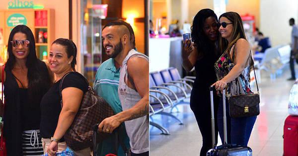 Gracyanne Barbosa, Belo e Viviane Araújo são tietados em ...