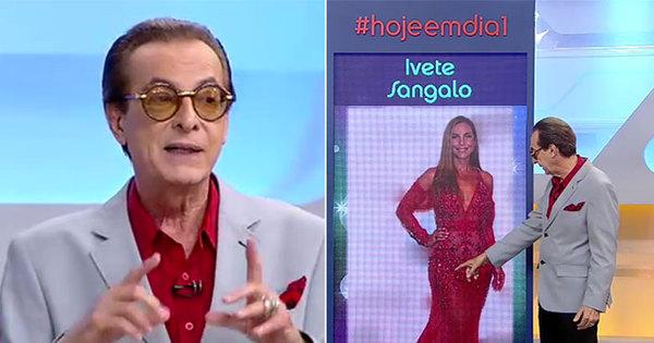 """Ronaldo Ésper detona roupa de Ivete Sangalo: """"Precisa emagrecer ..."""