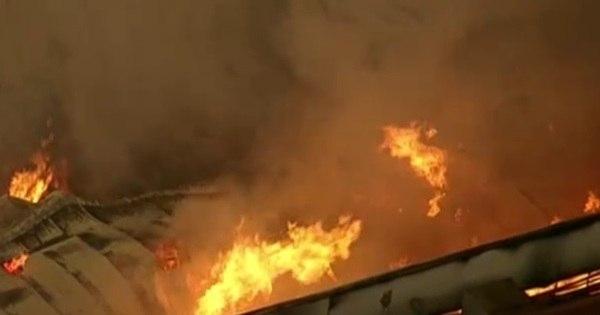 Incêndio atinge fábrica de macarrão no interior de São Paulo e ...