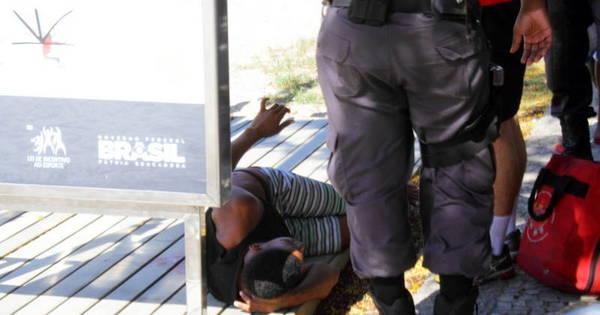 Motociclista foge após balear menor suspeito de assalto em Botafogo