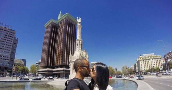 Lucas aproveita folga do PSG para viajar com a noiva para Madri ...
