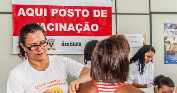 Postos de saúde do Brasil funcionam hoje para vacinação contra a ...