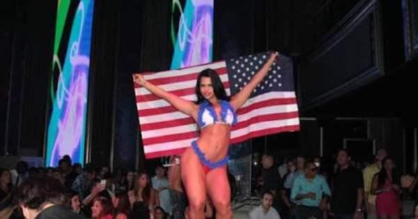 Fotos provam que Milena Santos foi Miss Bumbum em concurso ...