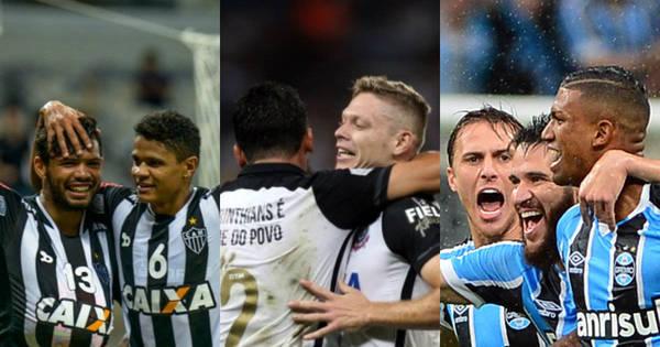 Trio de brasileiros na Libertadores esquenta a quarta de futebol ...