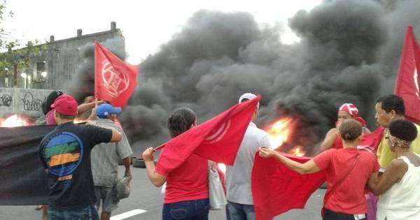 Protestos interrompem trânsito na avenida Brasil e em acesso à ...