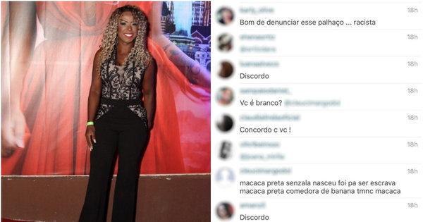 Ex-BBB Adélia é alvo de racismo na internet e vai denunciar ...