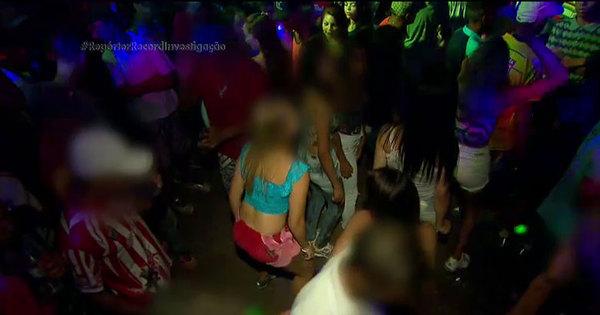 """Adolescentes fazem """"trenzinho"""" de sexo em bailes funk com até dez ..."""