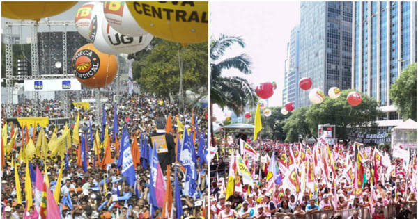 Centrais sindicais fazem atos por todo o País neste Dia do Trabalho ...