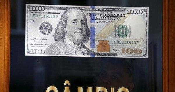 Dólar cai e fecha a semana cotado a R$ 3,44, menor patamar em 9 ...