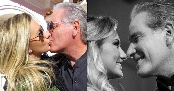 Roberto Justus e Ana Paula Siebert comemoram um ano de ...